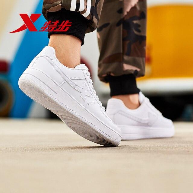 881219319851 xtep men skateboarding shoe men Air force skateboard shoe sport student shoe
