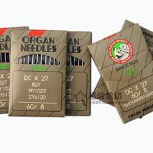 10 шт. органные иглы для промышленной швейной машины DC1 DCX27# MY1023 B-27 для Durkopp Brothers JUKI Gemsy SIRUBA Singer Mitsubishi