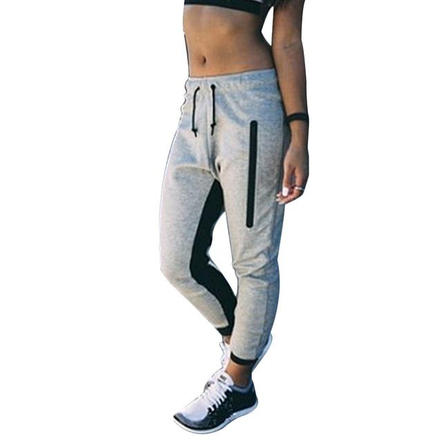 b7422f8543 US $10.77 |2018 Fashion Womens Joggers Pants Gym Trackies Track Trousers  Casual Dance Sweatpants Slacks New Arrival Sports Streetwear-in Pants & ...