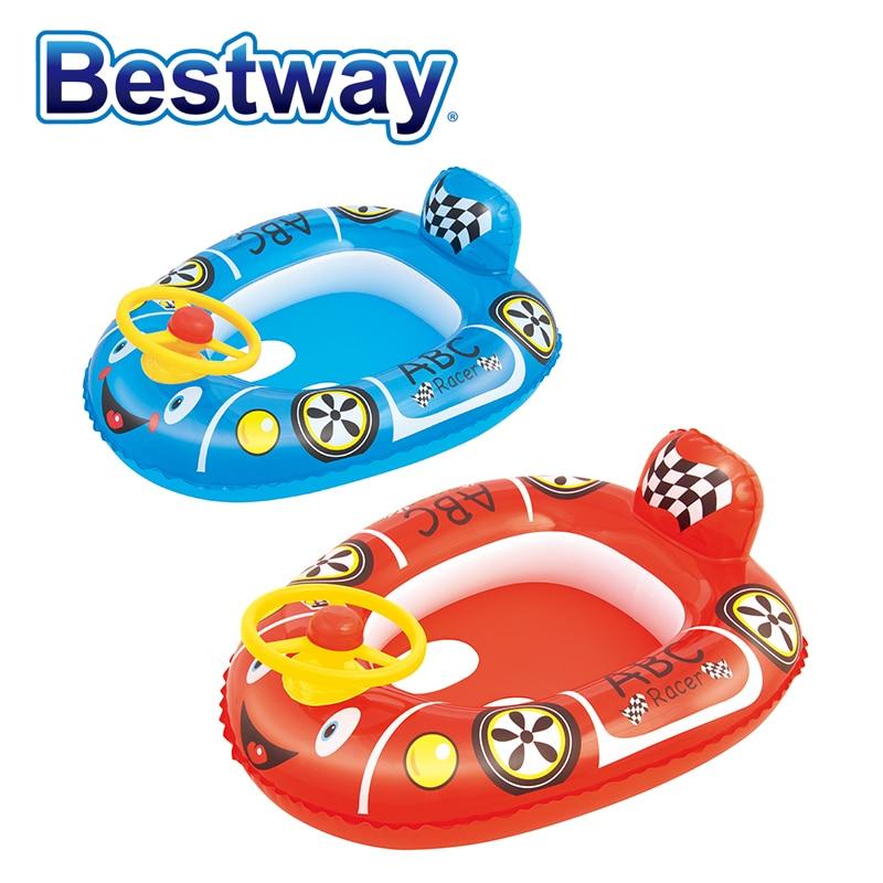 """Diszipliniert 34045 Bestway 71 Cm X 56 Cm Racer Baby Pflege Sitz 28 """"x22"""" Baby Aufblasbare Boot Baby Aufblasbaren Sitz Sitzen Auf Wasser Float Hochglanzpoliert"""