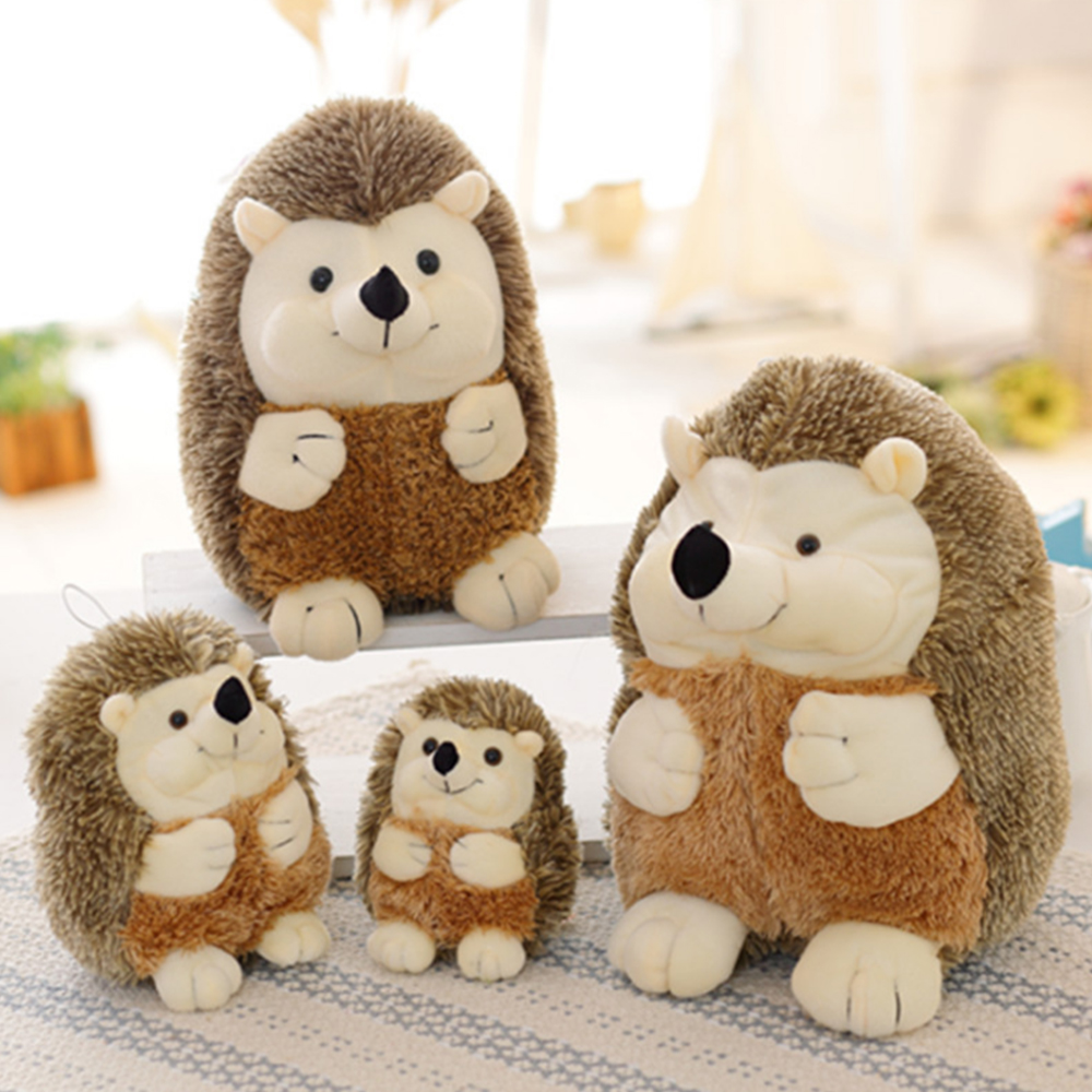 17cm/22cm Animal Plush Toy Doll Kawaii Soft Hedgehog Plush Toys High Quality Home Decoration Gift for Kids Girls Dolls Toys стоимость