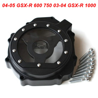 For Suzuki 04 05 GSXR600 GSXR750 GSXR 600 750 03 04 GSXR1000 Engine Stator Crank Case Cover Engine Guard Side Shield Protector