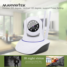 720P HD Baby Monitor Wireless IP Camera WiFi Network Security Night Vision Audio Video Surveillance CCTV Camera Smart Home