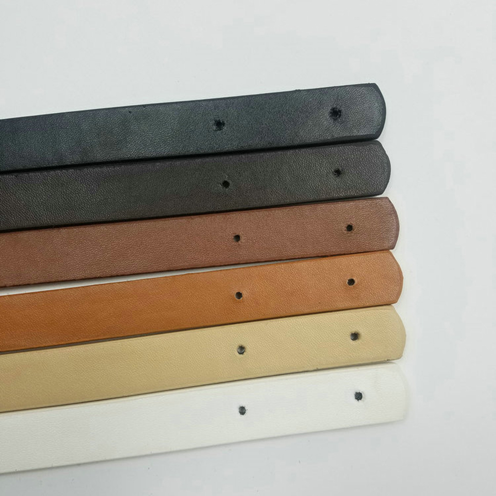 Correa de cuero sintético desmontable para bolso bandolera, accesorios de repuesto para bolso de mano, 2 uds.