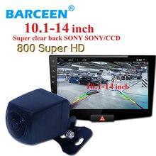Telecamera posteriore MCCD Car Rear View Camera 800 TVLWaterproof Ampio Angolo di Visione per il Grande formato DVD Dell'automobile dello schermo come per 10.1 10.2 pollici
