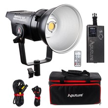 Aputure LS C120d 120D II 180W LED Continuous V-Mount Video Light CRI96+ TLCI97+ 2.4G 5500K Bowens Mount Daylight Studio Light new arrivalaputure ls c120t cob studio light bowens mount tlci cri 97 led video light with anton bauer controller box with bag