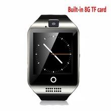 Apro Bluetooth Smartwatch SMS GPS NFC smart uhr 1,3 Mt Kamera MP3 Schrittzähler unterstützung SIM TF Karte Für Android IOS telefon