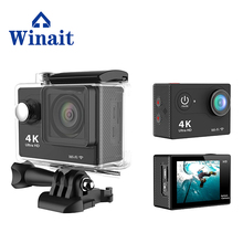 2017 popular H9 wifi 4K sports camera micro sd card max support 32GB free shipping