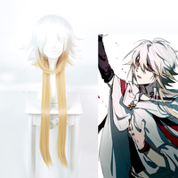 Aotu World Cosplay Oracle King Cosplay Wigs Gradient Color Hair Heat Resistant Synthetic Anime Cosplay Wig Halloween Party Wigs