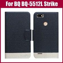 Лидер продаж! BQ BQ-5512L Strike вперед чехол Новое поступление 5 цветов модный флип ультратонкий кожаный защитный чехол для телефона сумка