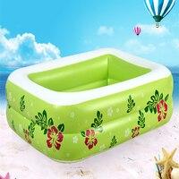Heimgebrauch Tragbare babys Schwimmbad Kinder Aufblasbare Platz Schwimmen Badebecken Große Kapazität kinder Phantasie Schwimmbad