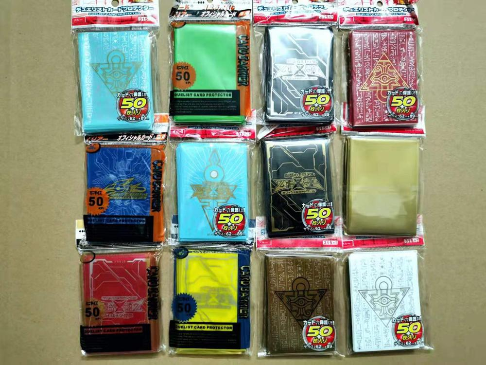 50 Pcs/set Yu-Gi-Oh! KMC Game Collection Card Sleeves Cards Protecto Toy ZEXAL / 5DS / Board Games 50 Pcs In Pack