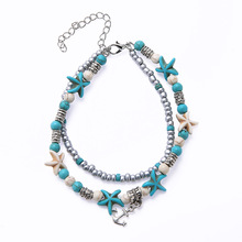 Handmade Jewelry Shell Anklet Custom Anklets Women Accessories