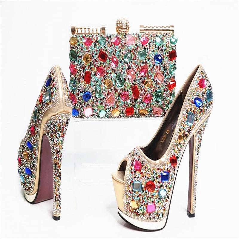 Set Beliebtesten Hochzeit Heels Pumpen Royalblau Us99 Strass Frau Online G30 Tasche Modische Italiener Schuhe In Und High 0g30 R54ALj3