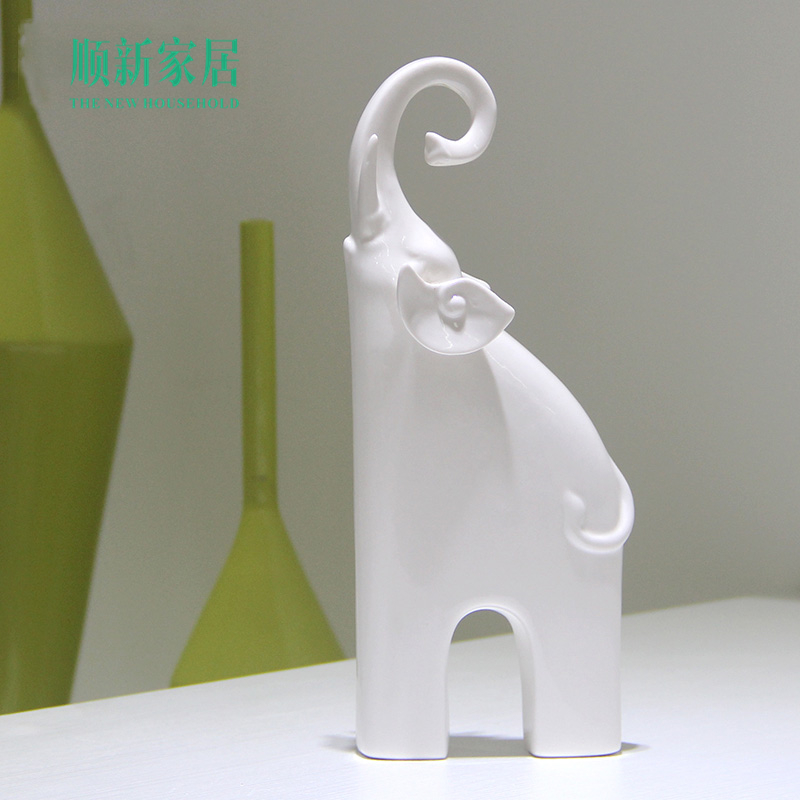 bianco porcellana animali-acquista a poco prezzo bianco porcellana ... - Arredamento White Elephant