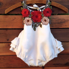 2019 New Newborn Toddler Baby Girl Floral Romper Jumpsuit Bodysuit Outfit Sunsuit Clothes  Thanksgiving