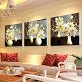 151*50 ronda 5d puntada flores en florero imágenes de cristales de diamante costura rhinestones del bordado de punto de cruz diy artesanía