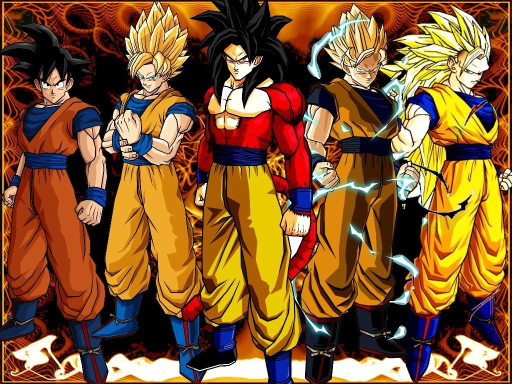 Anime Dragon Ball Z Goku Super Saiyan Art Silk Fabric Poster 36 X