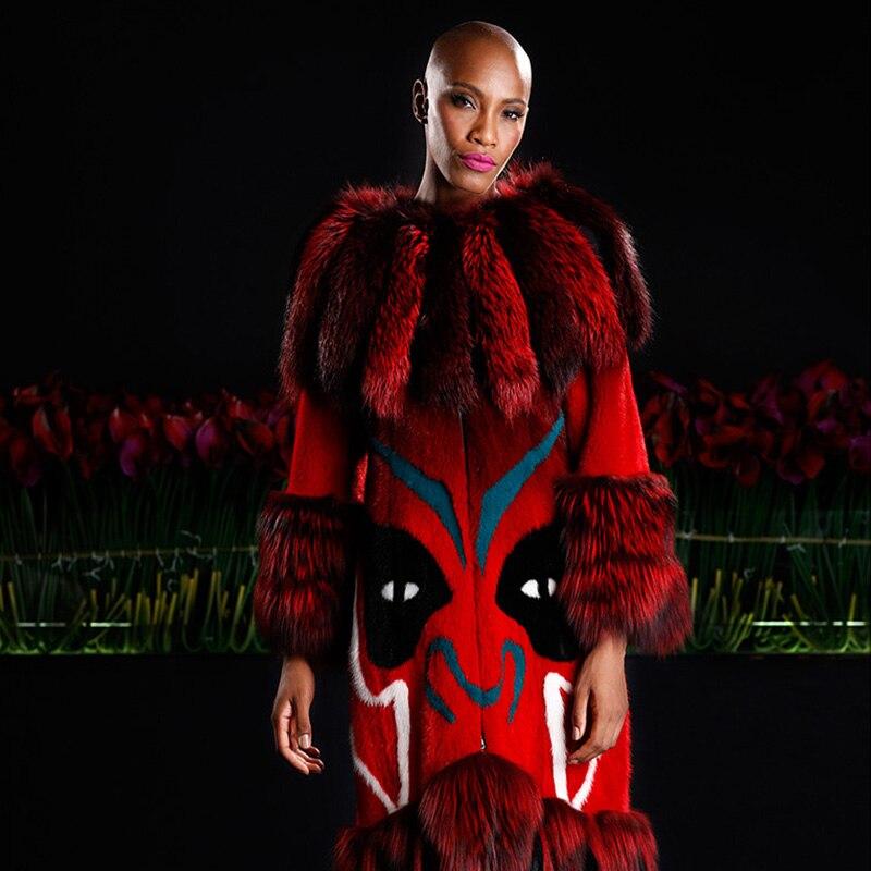 LVCHI 2019 najbolje prodajani top modni modni plašči iz pravega - Ženska oblačila - Fotografija 3