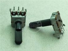 3pcs para NOBLE 12 B501 square horizontal único potenciômetro 500 ohm/com ponto médio/shank comprimento 23MMF