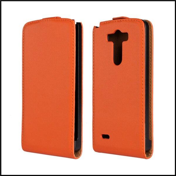 Para lg g3 cubierta de la caja vertical del cuero del tirón shell funda móvil te