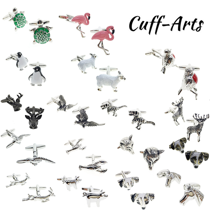 Cuffarts Cufflinks For Mens High Quality Cufflinks Animals Novelty Cufflinks Luxury Shirt Cufflinks