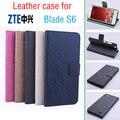 Зеленый Низ ZTE Blade S6 Q5-C case cover wallet, Good Quality Leather Case С Кошелька Для Blade S6 Q5 мобильного телефона С 5 дюймов