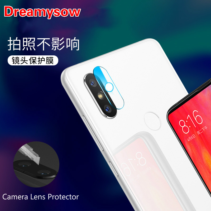 Back Camera Lens Clear Tempered Glass For Xiaomi mix2S Mi 6X 5X A2 Mi5 5S plus Redmi 5plus note 2 3 4X 5Pro 3S S2 Protector Film