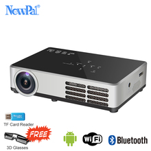 Pocket Home Theater Projectors 2500LM LCD Projector 1280*800p Full HD DLNA Portable Wireless Beamer Projector