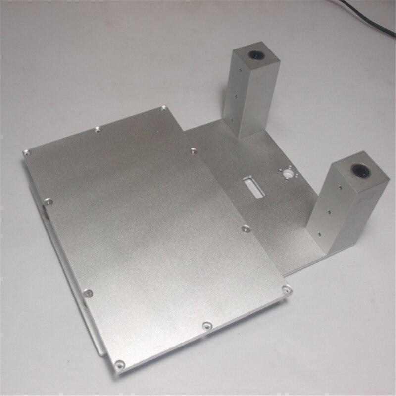 Funssor 3dp-aluminum-upgrade-parts CTC Replicator Flashforge Replicator Z atage printing bed kit Z aixs build plateform set ...