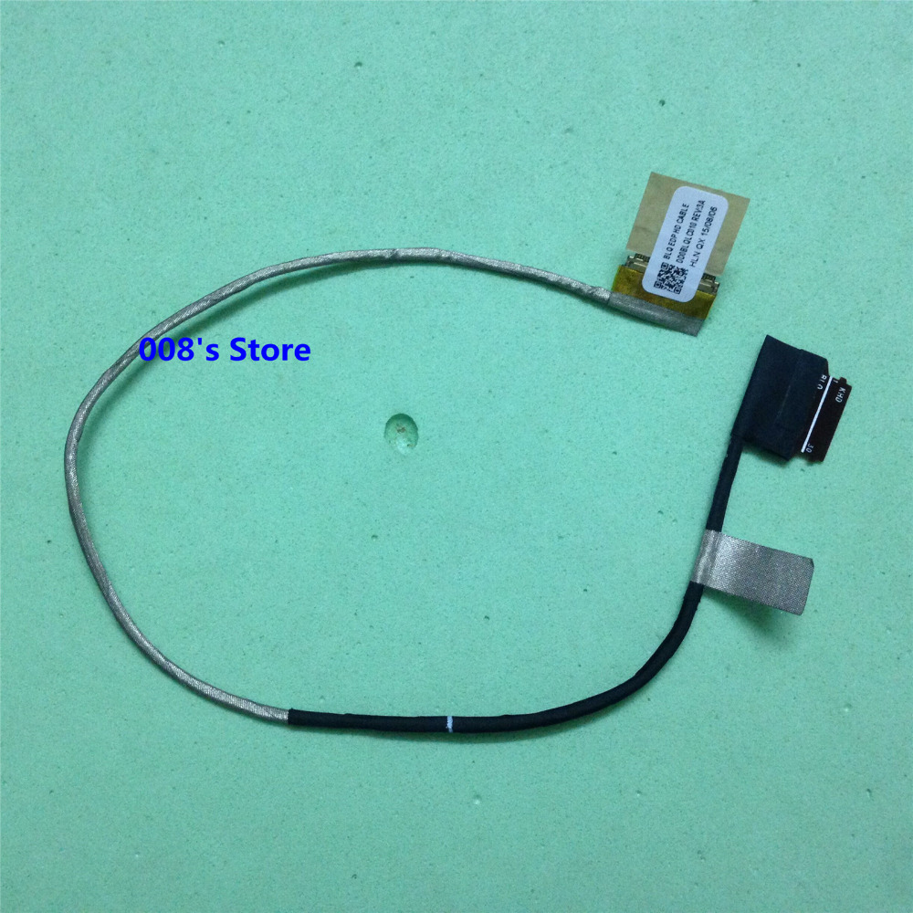 New LED LCD BLQ EDP HD Cable For Toshiba C55-C S55-C L50-C L55-C L55D-C C55DT-C P55T-C C55D-C C55T-C DD0BLQLC010 Screen LVDS xs black l exces w edp