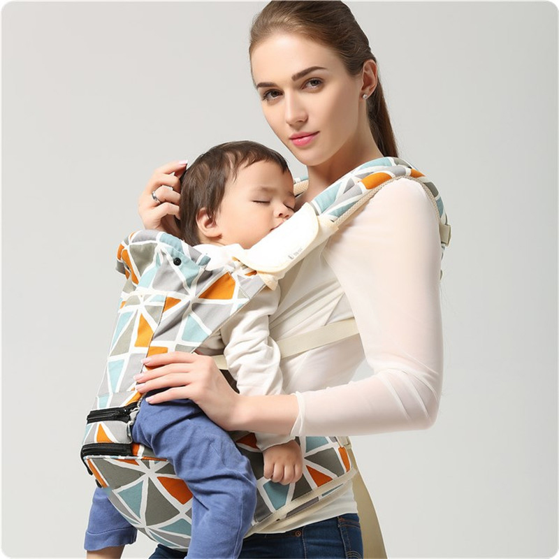 Baby Carrier Ergonomic All Carry Positions Waist Belt Sling Belt Kids Infant Hip Seat Breathable Backpack