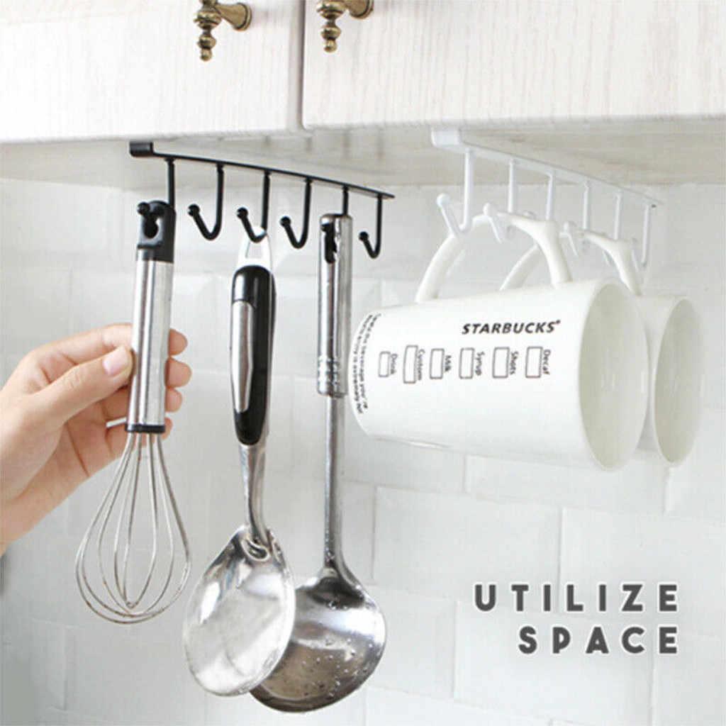 Phòng Tắm nhà bếp Lưu Trữ Organizer Kệ Đa-chức năng Sắt Tủ Treo Móc Kệ Khăn Cup Ngực Drainer Chủ Rack