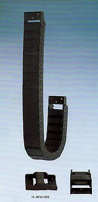3.28ft 1 Mt 15x40mm Kabelschlepp Radius 38mm Drahtträger Paar Enden Ce FöRderung Der Produktion Von KöRperflüSsigkeit Und Speichel