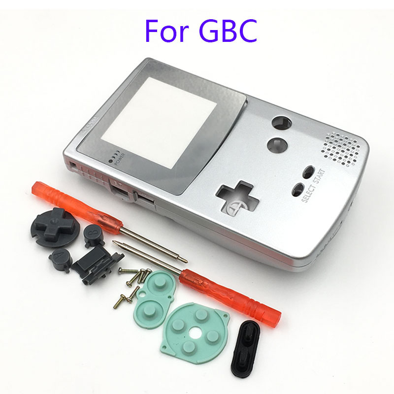 cheapest For GBC Limited Edition Shell Replacement For Gameboy Color GBC game console full housing