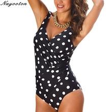 цена One Piece Swimsuit 2017 Women Summer Swimwear sexy Halter Top Bathing Suit Plus Size Swim Suits Push up Ruffle Solid Monokini онлайн в 2017 году