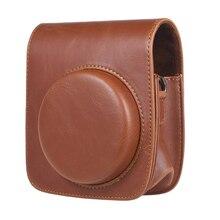 Andoer винтажный PU защитный Мини чехол для камеры сумка Защитная крышка с ремешком для Fujifilm Instax 90 мгновенная пленка сумка для камеры