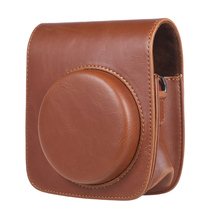 Andoer Vintage PU Protective Mini Camera Case Bag Pouch Cover Protector w/Strap for Fujifilm Instax 90 Instant Film Camera Bag