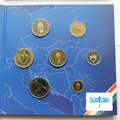 Hungary 7pieces/ Set 2004 year coin coins with Coin Paper folder gift collection gift present