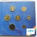 Hungría 7 unids/set 2004 año de la moneda monedas con Papel Moneda De la carpeta de regalo de colección de regalo presente