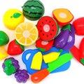 11 unid/set cortar vegetales de frutas play toys toys pretend play cocina de juguete para niños educativos para niños de regalo