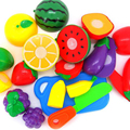 11pc/set Cutting Fruit Vegetable Play toys Pretend Play Kitchen toy Kids Educational Toys for children Gift