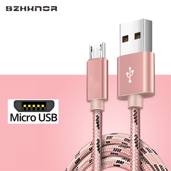Micro USB 2.0 a USB cable de carga cable de datos para Samsung Galaxy a7 2015//2016