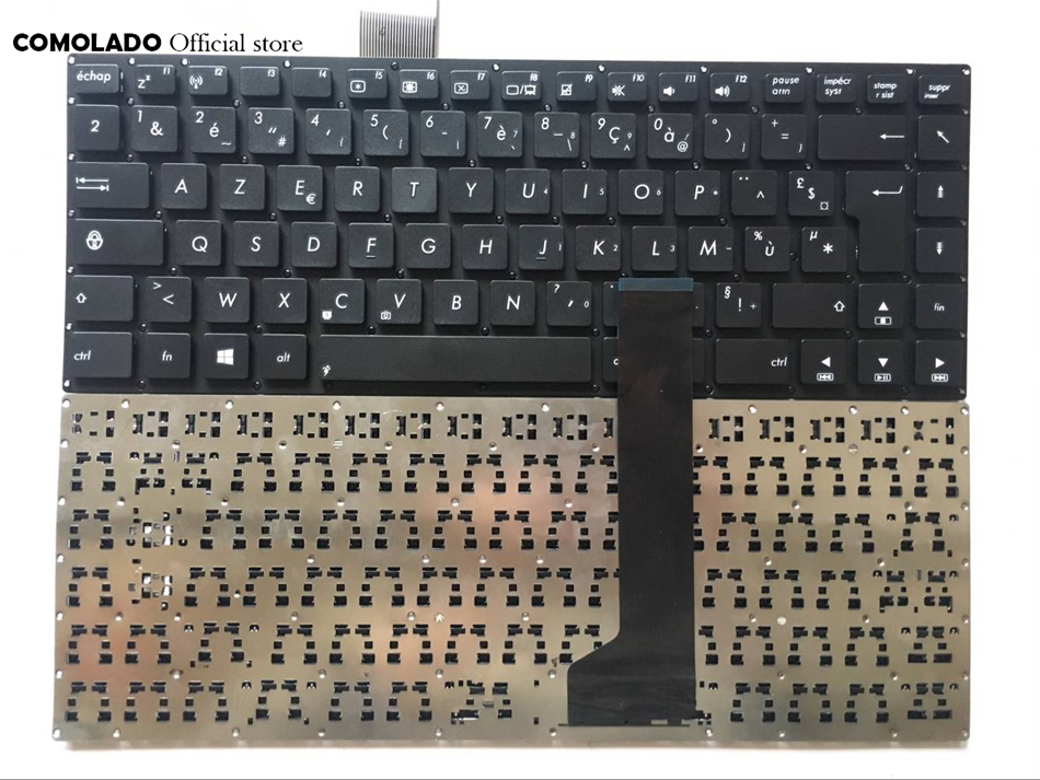 FR French <font><b>keyboard</b></font> for <font><b>ASUS</b></font> K46 K46CA K46CB <font><b>K46CM</b></font> S46C S46CB S46CM S46CA Black Without Frame <font><b>Keyboard</b></font> FR Layout image