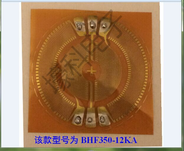KA series wafer strain rosette strain gauge/round diaphragm/the whole bridge BHF350-12 KA bacterial strain improvement by mutagenesis
