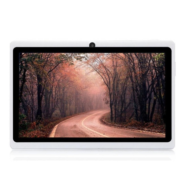Q88H 7'' Inch Android 4.4 Tablet PC A33 Quad Core WiFi BT 4.0 Flashlight 1.2GHz 1G RAM 8GB ROM Dual Cameras PC US plug