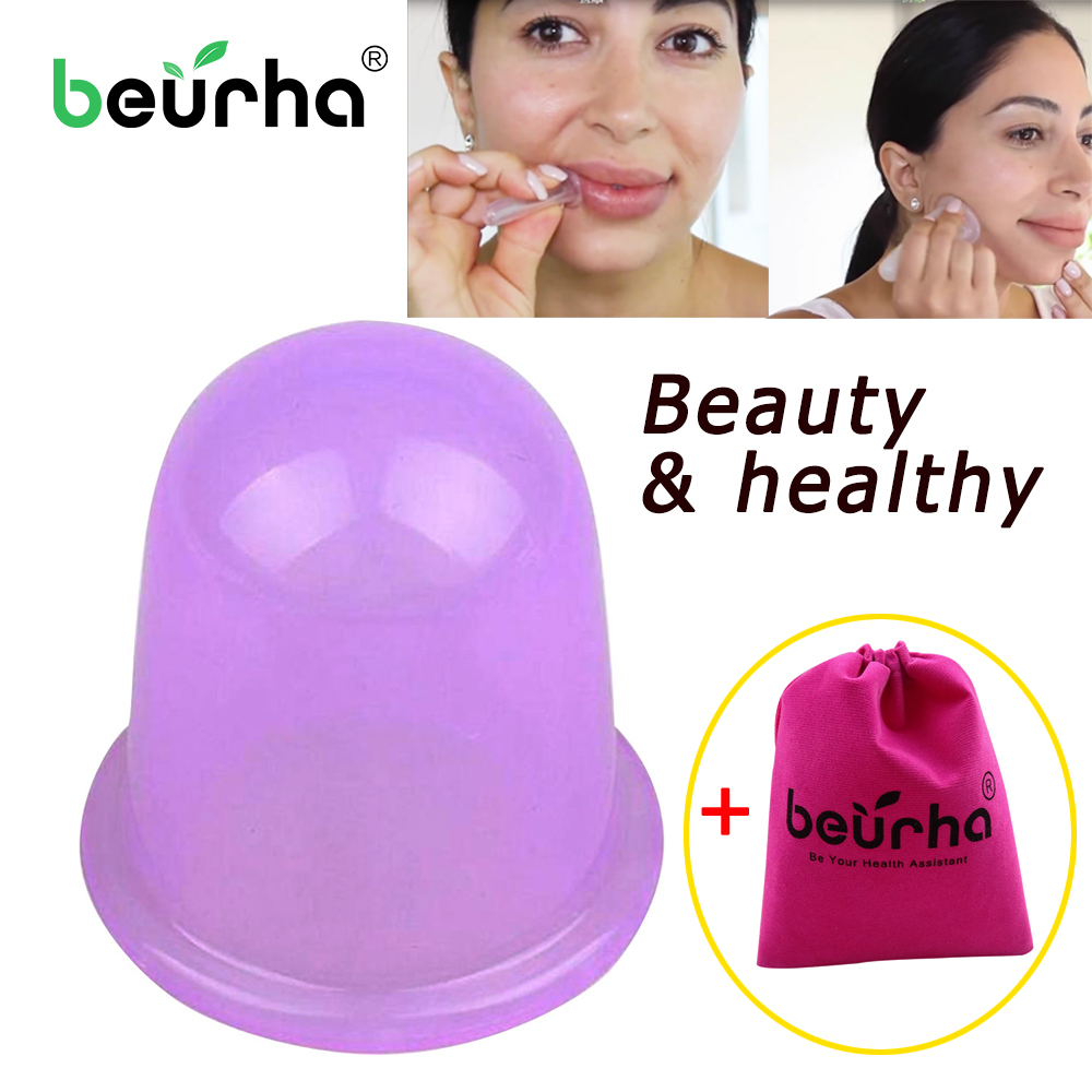 Vacuum-Cupping-Cups Massager Anti-Cellulite Medical-Cup Silicone Cans Health-Care 1PC