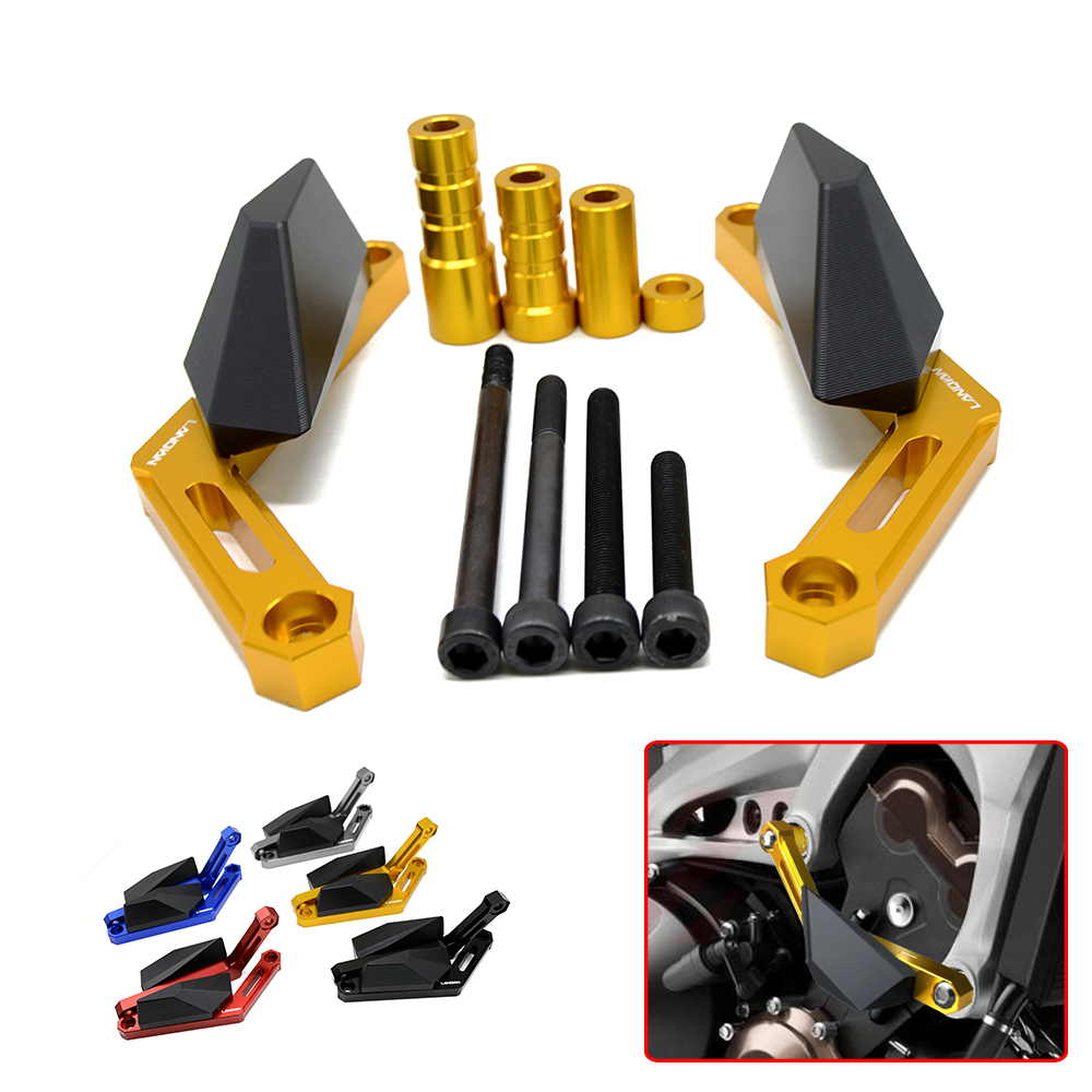 Motorcycle CNC Crash Pad Frame Slider Protection Guard For Yamaha MT-09 FZ-09 2013-2016 2014 TRACER FJ-09 2015 2016 XSR900 2016