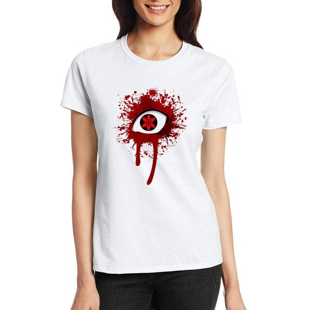 Bloody Sharingan Naruto Unisex T Shirt