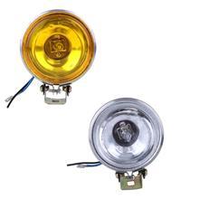 12 В в 55 Вт 3 »автомобильный противотуманный свет Рабочая лампа круглые боковые автомобили в дневное время огни Реверсивный свет водостойкий штекер автомобиля аксессуары